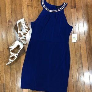 Royal Blue dress Jessica Simpson - NWT
